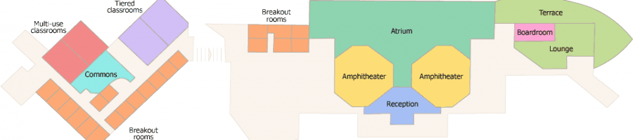 Henry Center Room Map