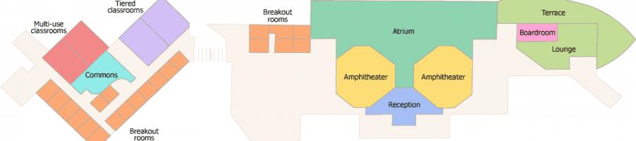 Henry Center Room Map