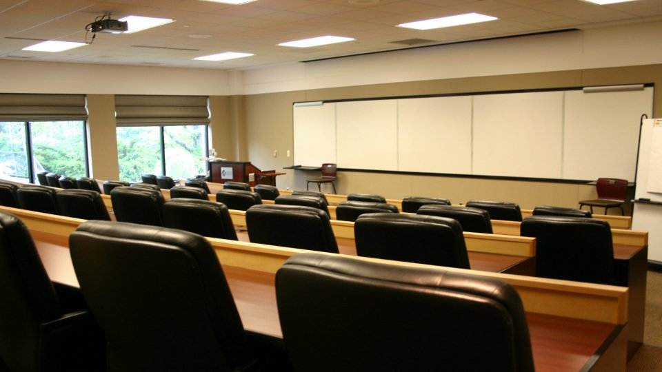 Tiered Classroom Design Standards ~ Tiered classrooms henry center for executive development